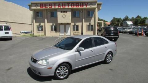2006 Suzuki Forenza for sale at Best Auto Buy in Las Vegas NV