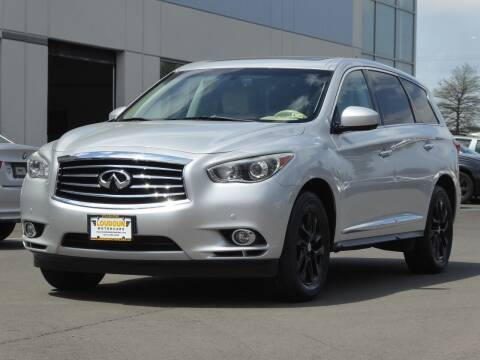 2013 Infiniti JX35 for sale at Loudoun Used Cars - LOUDOUN MOTOR CARS in Chantilly VA
