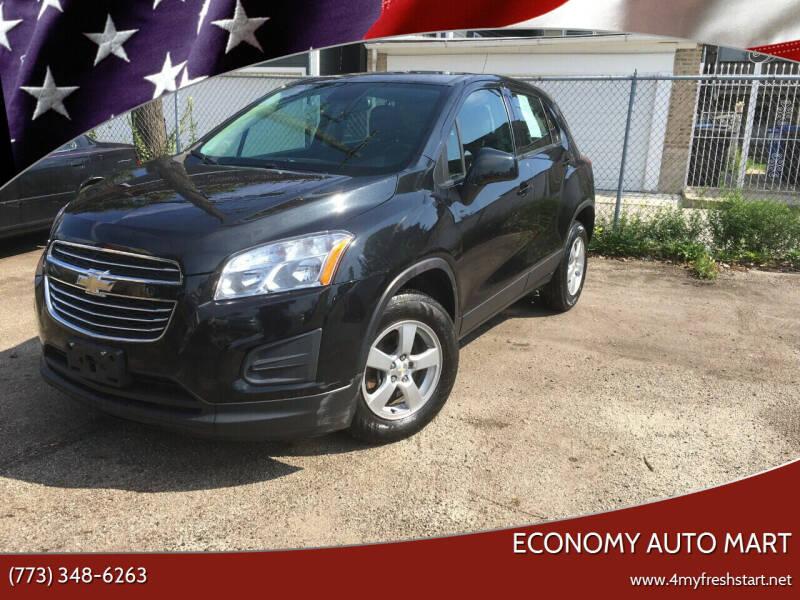 2016 Chevrolet Trax for sale at ECONOMY AUTO MART in Chicago IL