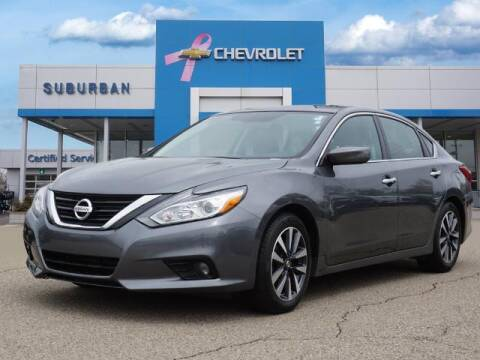 2017 Nissan Altima for sale at Suburban Chevrolet of Ann Arbor in Ann Arbor MI