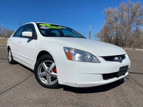 2003 Honda Accord for sale at UNITED Automotive in Denver CO