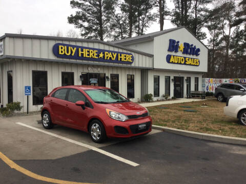 2014 Kia Rio 5-Door for sale at Bi Rite Auto Sales in Seaford DE