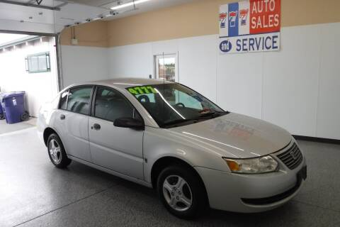 2005 Saturn Ion for sale at 777 Auto Sales and Service in Tacoma WA