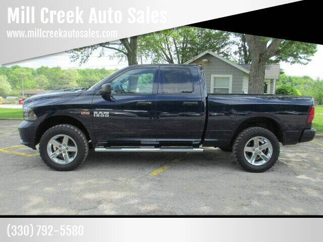 2013 RAM Ram Pickup 1500 for sale at Mill Creek Auto Sales in Youngstown OH