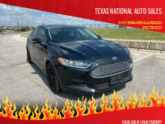 2014 Ford Fusion for sale at Texas National Auto Sales in San Antonio TX