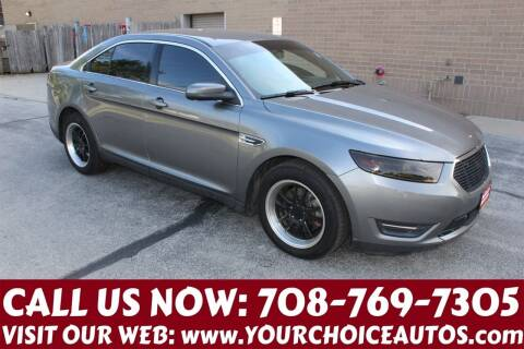 2014 Ford Taurus for sale at Your Choice Autos in Posen IL