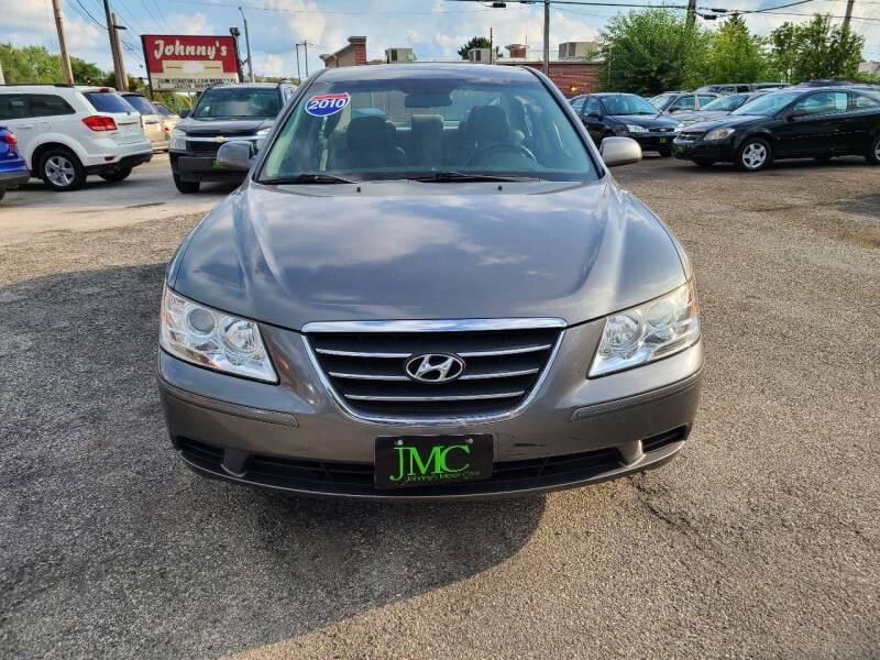 2010 Hyundai Sonata for sale at Johnny's Motor Cars in Toledo OH