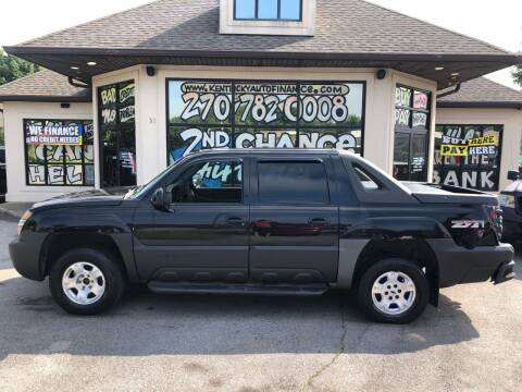 2003 Chevrolet Avalanche for sale at Kentucky Auto Sales & Finance in Bowling Green KY