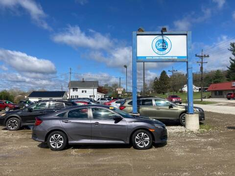 2018 Honda Civic for sale at Corry Pre Owned Auto Sales in Corry PA