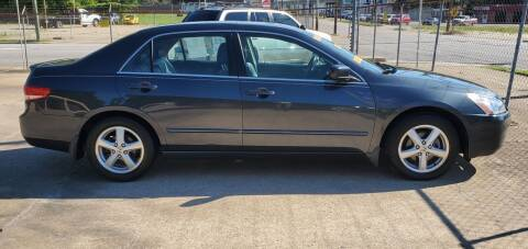 2003 Honda Accord for sale at Tims Auto Sales in Rocky Mount NC