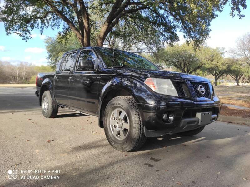 2012 Nissan Frontier for sale at 210 Auto Center in San Antonio TX