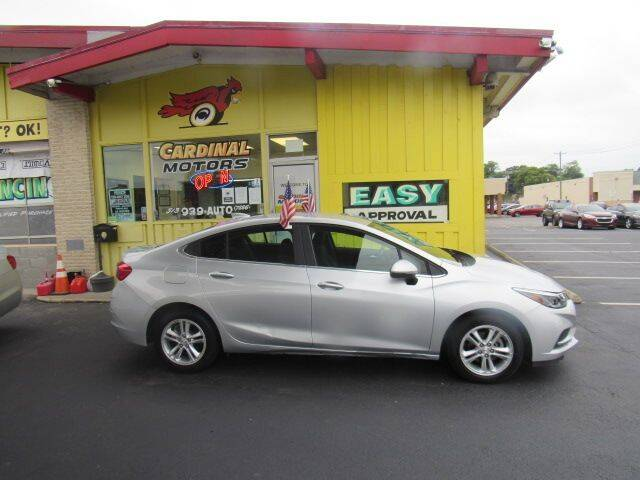2017 Chevrolet Cruze for sale at Cardinal Motors in Fairfield OH