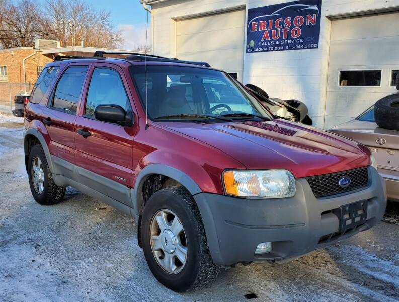 2001 Ford Escape XLT 4WD 4dr SUV - Ankeny IA