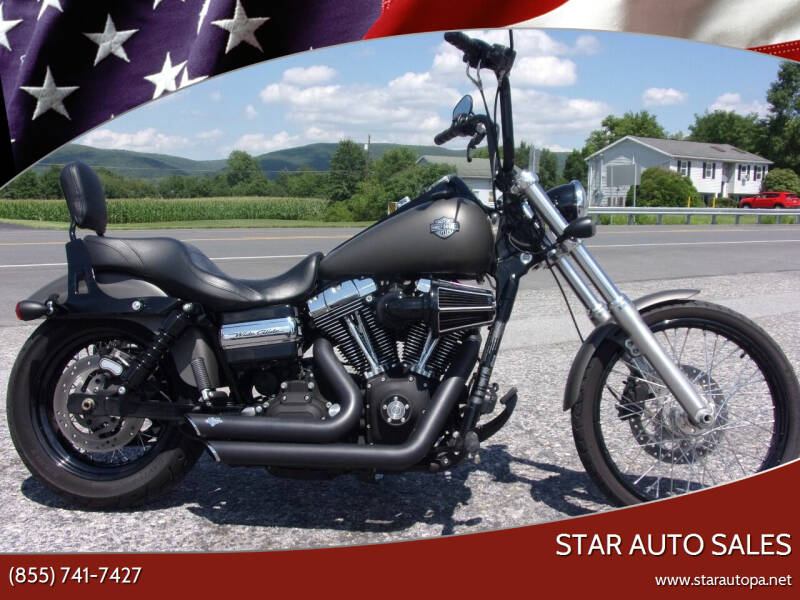 2011 Harley-Davidson DYNA WIDE GLIDE for sale at Star Auto Sales in Fayetteville PA