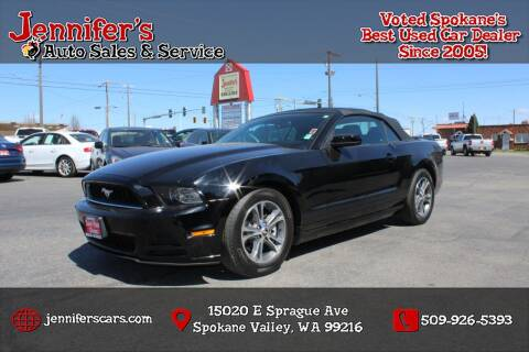 2014 Ford Mustang for sale at Jennifer's Auto Sales in Spokane Valley WA
