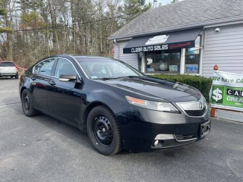 2012 Acura TL for sale at Clear Auto Sales 2 in Dartmouth MA