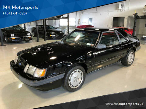 1986 Ford Mustang for sale at M4 Motorsports in Kutztown PA