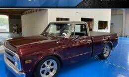 1969 Chevrolet C/K 10 Series for sale at Rehab Garage, LLC in Tomball TX