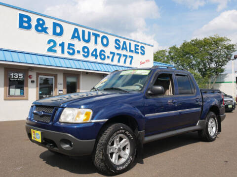 2005 Ford Explorer Sport Trac for sale at B & D Auto Sales Inc. in Fairless Hills PA
