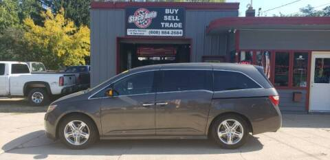 2012 Honda Odyssey for sale at Stach Auto in Edgerton WI