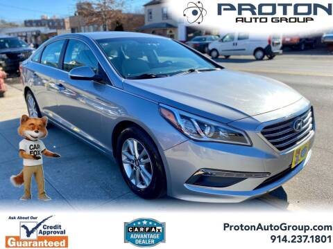 2015 Hyundai Sonata for sale at Proton Auto Group in Yonkers NY