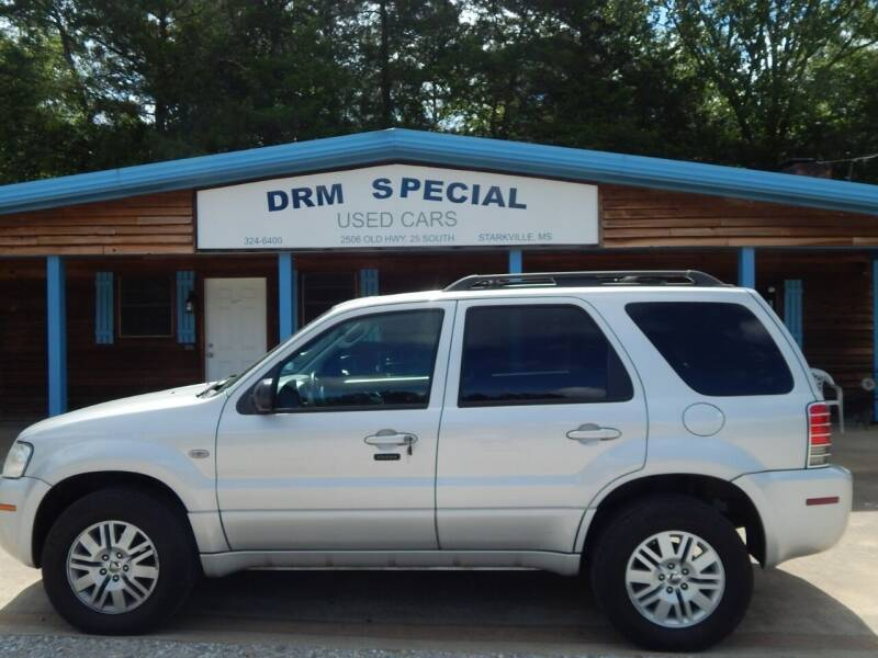 2007 Mercury Mariner for sale at DRM Special Used Cars in Starkville MS