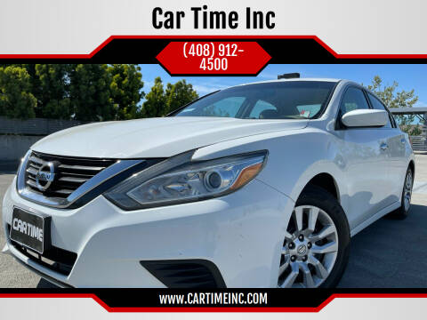 2016 Nissan Altima for sale at Car Time Inc in San Jose CA