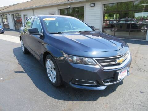 2018 Chevrolet Impala for sale at Tri-County Pre-Owned Superstore in Reynoldsburg OH
