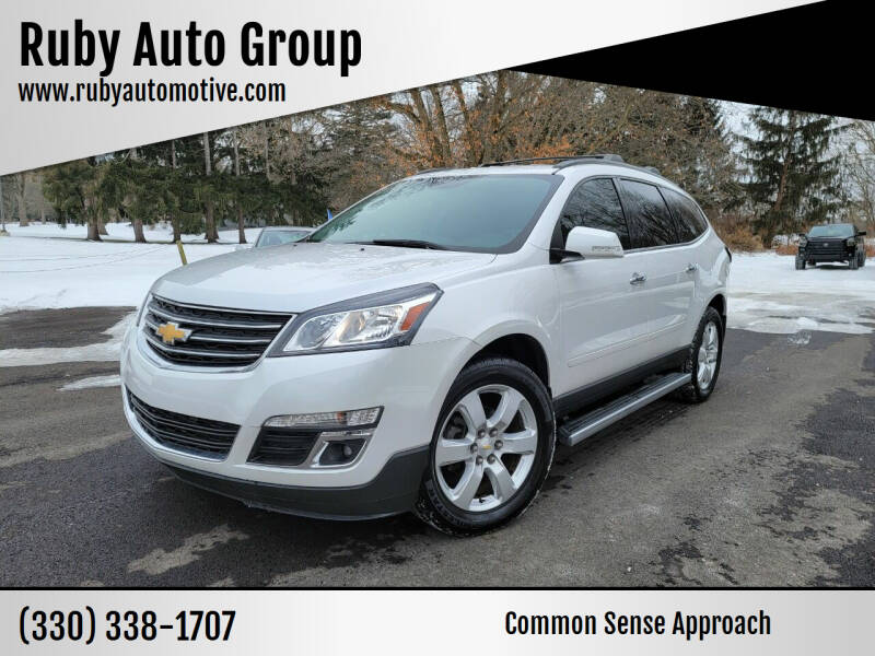 2017 Chevrolet Traverse for sale at Ruby Auto Group in Hudson OH