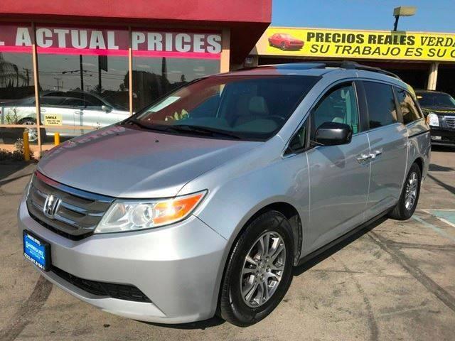2011 Honda Odyssey for sale at Sanmiguel Motors in South Gate CA