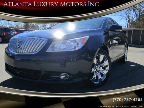2011 Buick LaCrosse for sale at Atlanta Luxury Motors Inc. in Buford GA
