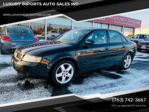 2005 Audi A4 for sale at LUXURY IMPORTS AUTO SALES INC in North Branch MN