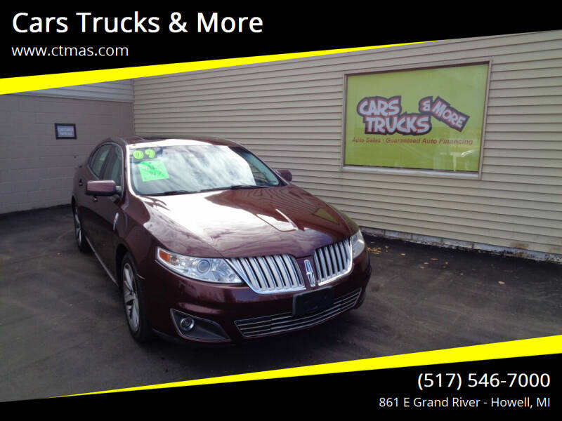 2009 Lincoln MKS for sale at Cars Trucks & More in Howell MI