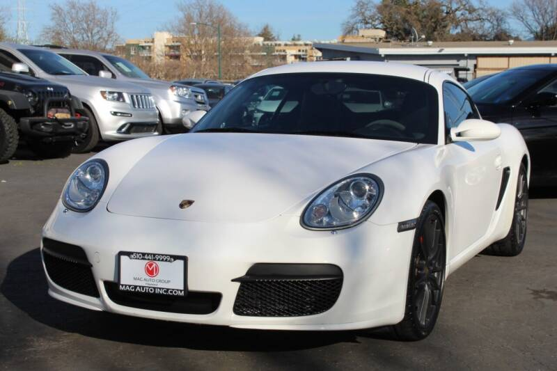 2007 Porsche Cayman for sale at Mag Motor Company in Walnut Creek CA
