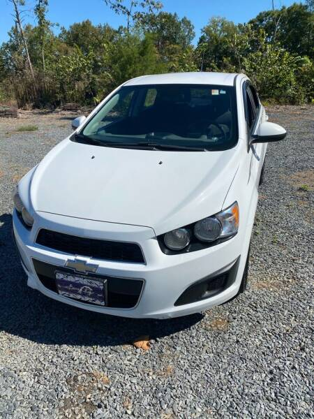 2013 Chevrolet Sonic for sale at Richards's Auto Sales & Salvage in Denton NC