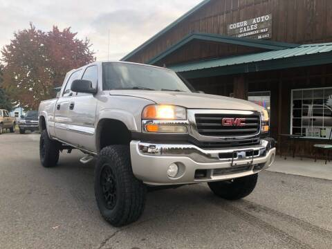 2007 GMC Sierra 2500HD Classic for sale at Coeur Auto Sales in Hayden ID
