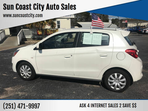 2019 Mitsubishi Mirage for sale at Sun Coast City Auto Sales in Mobile AL