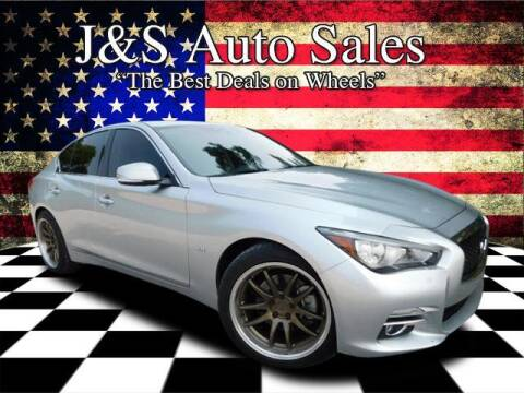 2017 Infiniti Q50 for sale at J & S Auto Sales in Clarksville TN