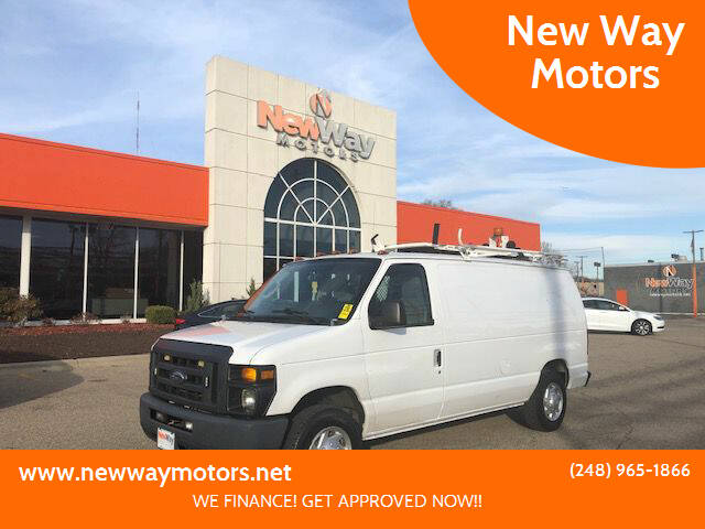 2013 Ford E-Series Cargo for sale at New Way Motors in Ferndale MI