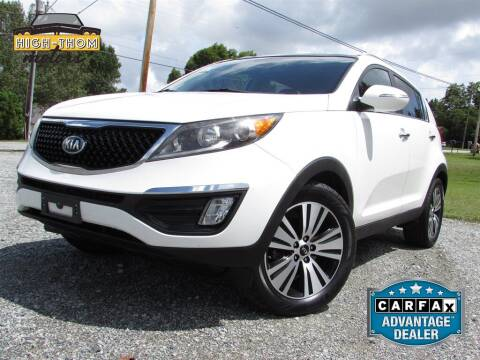 2014 Kia Sportage for sale at High-Thom Motors in Thomasville NC