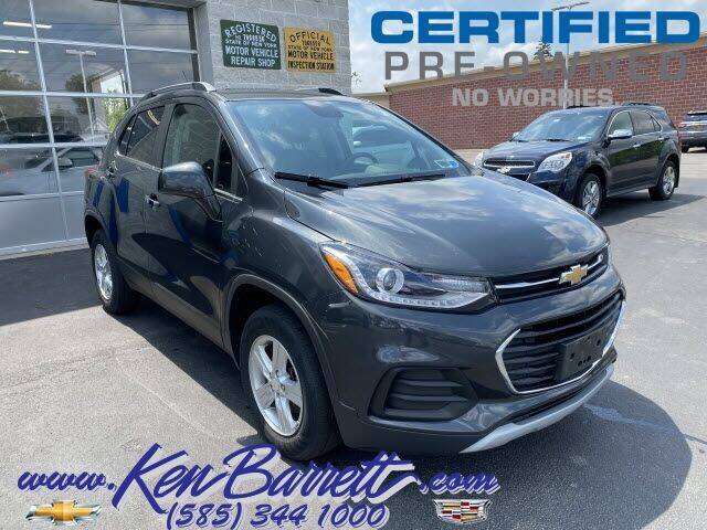 2018 Chevrolet Trax for sale at KEN BARRETT CHEVROLET CADILLAC in Batavia NY