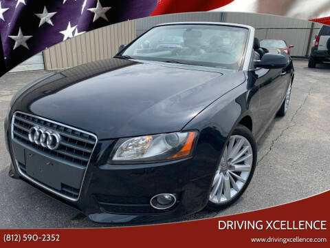2012 Audi A5 for sale at Driving Xcellence in Jeffersonville IN