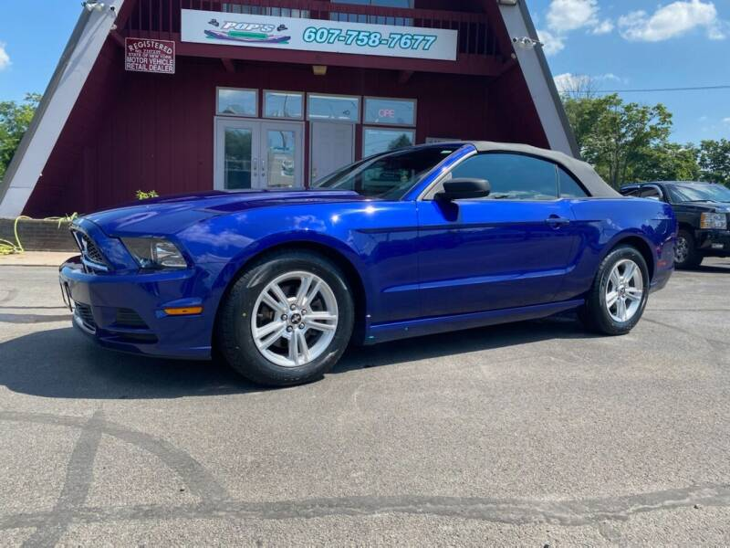 2013 Ford Mustang for sale at Pop's Automotive in Homer NY