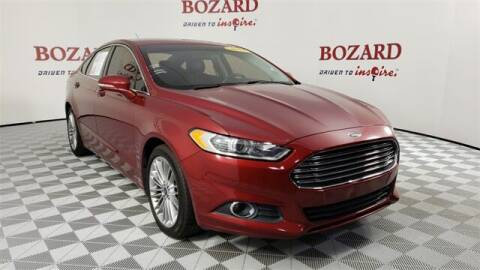 2015 Ford Fusion for sale at BOZARD FORD in Saint Augustine FL