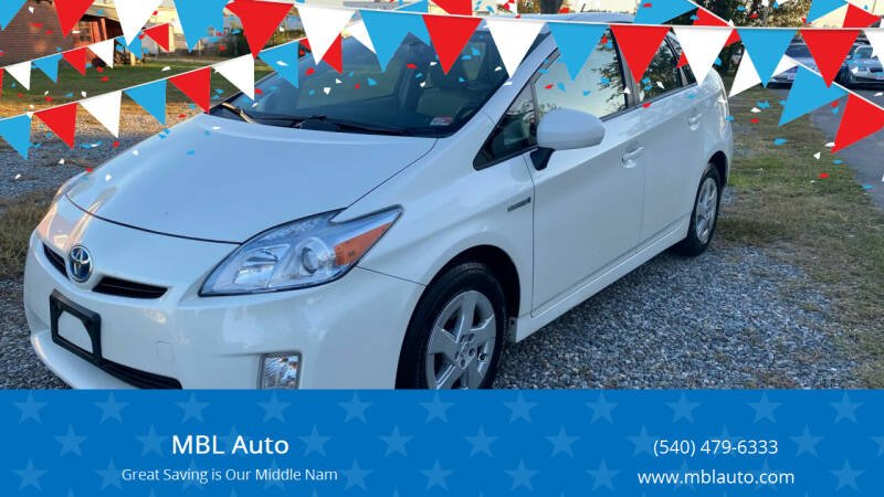 2010 Toyota Prius for sale at MBL Auto Woodford in Woodford VA