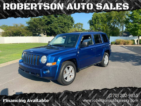 2010 Jeep Patriot for sale at ROBERTSON AUTO SALES in Bowling Green KY