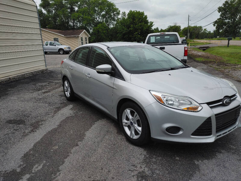 2014 Ford Focus for sale at K & P Used Cars, Inc. in Philadelphia TN