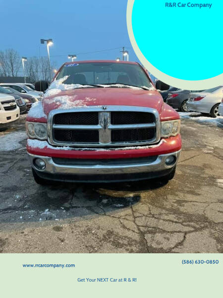 2005 Dodge Ram Pickup 1500 for sale at R&R Car Company in Mount Clemens MI