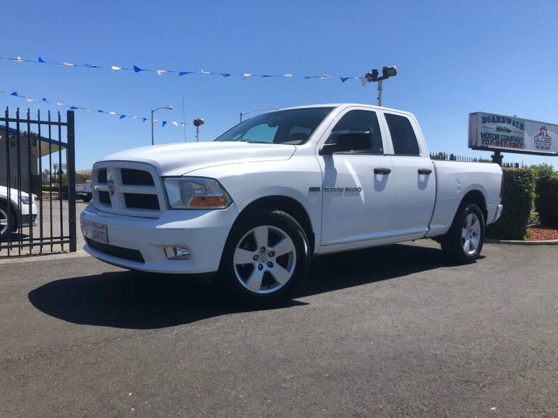 2012 RAM Ram Pickup 1500 for sale at BOARDWALK MOTOR COMPANY in Fairfield CA