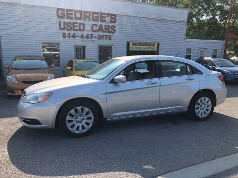 2012 Chrysler 200 for sale at George's Used Cars Inc in Orbisonia PA